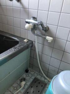 給水管・給湯管の切り替え作業 京都府 八幡市