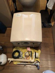 トイレタンクの故障です 大阪府 豊中市