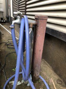水洗柱の水漏れです 大阪府 高槻市
