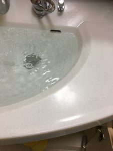 NAIS洗面排水交換です 茨木市