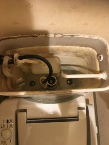 INAXのトイレよなぜそこが折れるのだ! 茨木市