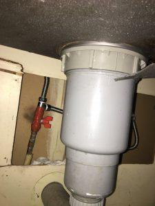 排水栓から水漏れだ!! 大阪市 住之江区