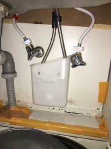 台所の下に置いていた鍋に水が溜まってる 門真市