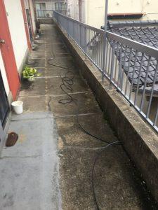 大阪市西区 排水溝の詰まり解消