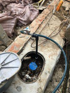 大阪市 生野区 鉛管の破損修理