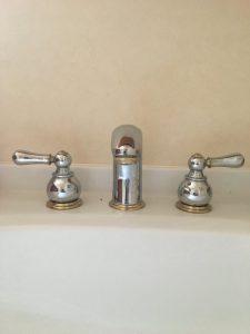 豊中市 アメリカンスタンダード 洗面蛇口水漏れ修理