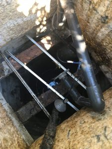 八尾市 井戸ポンプの交換作業