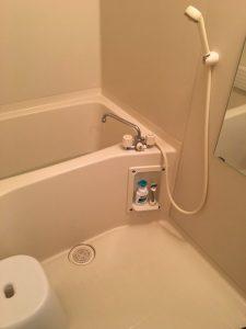 吹田市 佐井寺 お風呂の蛇口パッキン交換 水が止まらなくなりました