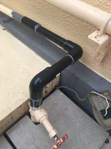 尼崎市 次屋 給水管破損・水漏れ修理
