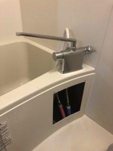 守口市 お風呂の蛇口水漏れ 2ハンドルタイプ