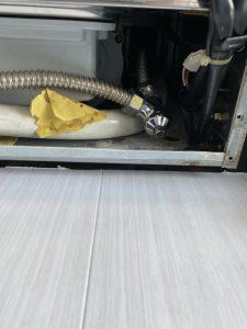 豊中市 食洗器水漏れ 食洗器分解作業 水漏れ修理