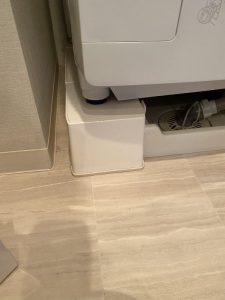 大阪市 生野区 洗濯排水詰まり? トラップ取り外し