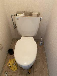 大阪市 東淀川区 トイレに物を落とした 便器脱着 便器取り外し