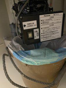 守口市 ディスポーザーから排水栓に交換 Panasonic製