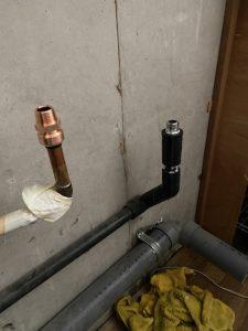 大阪市 平野区 台所蛇口水漏れ 流し台取り外し 蛇口交換