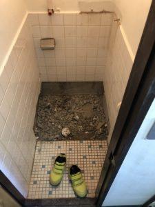 豊中市 和式から洋式に工事 トイレの工事