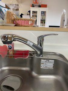 吹田市 台所蛇口水漏れ シャワーホースから水漏れ