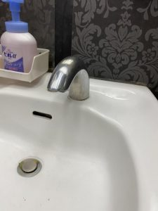 守口市 手洗い器自動水栓故障 アクアオート TENA40 TOTO
