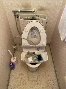 豊中市 便器交換作業 リモデルトイレ施工