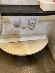 京都市 伏見区 お風呂の蛇口修理 埋め込み式蛇口 INAX