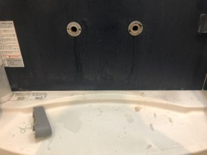 西宮市 お風呂の蛇口水漏れ スイッチ式水栓 蛇口交換