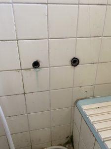 伊丹市 お風呂の蛇口からお湯が出ない 蛇口交換 サーモスタット