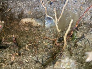 奈良市 地面から水が湧き出ます 水道管破裂 鉛管