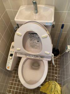 京都市 左京区 トイレにハンドタオル?? トイレ詰まり
