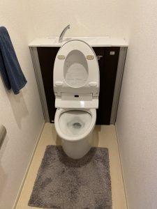 茨木市 トイレにスプレーの蓋が・・・。 トイレ詰まり除去