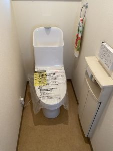 豊中市 トイレの交換工事 一体型トイレ