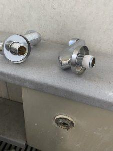 大阪市 東住吉区 お風呂の蛇口のしまりが甘い 蛇口交換です