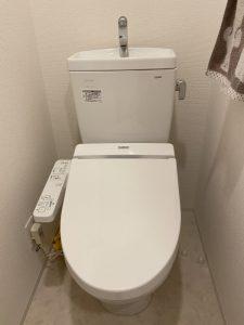 京都市 伏見区 トイレに検尿カップ!? トイレ取り外し