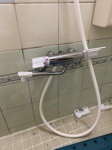 川西市 お風呂の蛇口の根元から水漏れ ザルボ交換