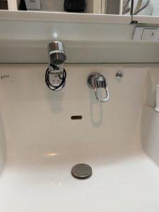 西宮市 INAX洗面下水漏れ 逆止弁カプラー破損!?