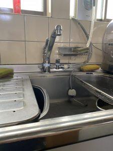 枚方市 台所蛇口故障 分岐付き水栓交換