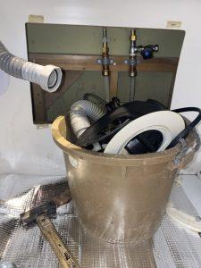 箕面市 ディスポーザーの撤去 排水栓の取り付け