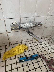 和泉市 お風呂の蛇口が止まらない 蛇口交換