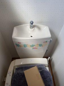 守口市 トイレの大が流れなくなった!? TOTO排水弁交換