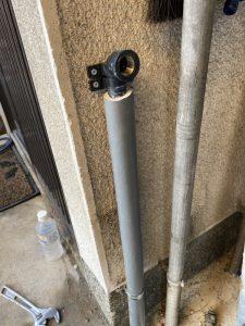 枚方市 漏水調査 水栓柱水漏れ コンクリート破壊