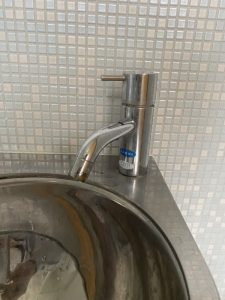 西宮市 トイレ手洗い蛇口水漏れ 蛇口交換