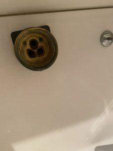 伊丹市 洗面蛇口水漏れ カートリッジ交換 ナショナル パナソニック