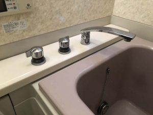 豊中市 浴槽用蛇口水漏れ 蛇口撤去