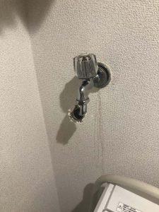 東大阪市 洗濯蛇口水漏れ 蛇口交換 洗濯専用蛇口