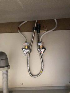 大東市 台所蛇口故障 蛇口交換 止水栓交換