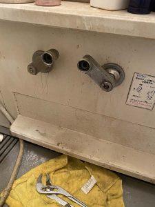 大阪市北区 お風呂の蛇口水が出ない 蛇口故障 切替弁回らない