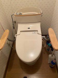高槻市 ナショナルトイレ水漏れ ボールタップ故障