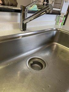 茨木市 台所蛇口故障 水漏れ修理 蛇口交換