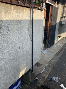 東大阪市 台所蛇口水漏れ 単水栓 分岐水栓 給水管破損