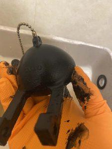 箕面市 トイレ水漏れ タンク部品修理 ゴムフロート ボールタップ