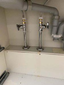 豊中市 台所蛇口水漏れ修理 蛇口交換 ハンドシャワー